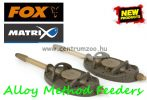 Fox Matrix Alloy Method Feeders Small 25g feeder kosár (GFR176)