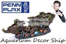Penn Plax Deco dekorációs hajóroncs akváriumba 24cm (056802)