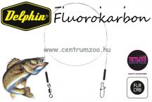 BOMB Fluorokarbon előke forgóval és kapoccsal 35cm 13kg 2db (917501335)