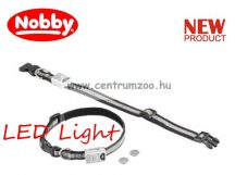 Nobby LED Light világító nyakörv L 25mm 55-70cm (78213)