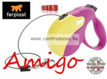 Ferplast AMIGO CORD MINI automata póráz  COLOURS