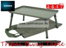 SHIMANO OLIVE BIVVY TABLE csalizó és sátor asztal 50X30cmX21cm (SHTR31)