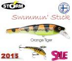 STORM Swimmin' Stick SST10 - Orange Tiger színkód 577 - 3 részes Storm wobbler AKCIÓ