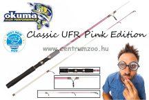 Okuma Classic UFR Pink Edition 7'4'' 223cm 10-30g - 2sec pergető bot (57788)