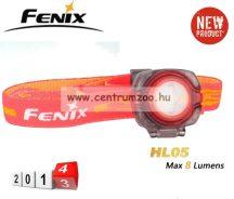 FENIX HL05 LED FEJLÁMPA fehér és piros fénnyel ( 35 LUMEN) vízálló