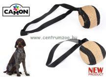 Camon Palla in juta con maniglia fogtisztító TARTÓS kötéllabda játék 6,5cm (A806/M)