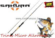 Sakura TRINIS ALLROUND CAST 602M 1,83m 5-21g 2rész pergető bot (SAPRE800960)