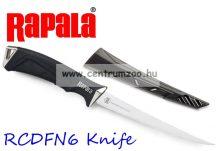 Rapala RCD Fillet Knife prémium horgászkés (RCDNF6)