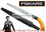 Fiskars Sw84 Fixed Blade Pruning Saw Long ágfűrész kirándulásra, kertbe, táborhelyek kialakítására... 50cm (123840)
