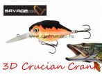 Savage Gear 3D Crucian Crank34 3.4cm 3g F SR 04-Black & Orange (53767)