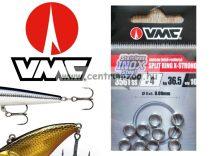 VMC  Ring inox kulcskarikák 5mm 22,5kg 1-es 10db 3x erősség (3561)