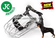 JK Animals Dog Safe fém szájkosár (44047) Rottweiler méretű kutyáknak