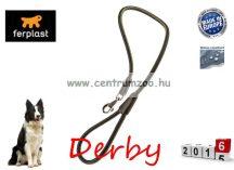 Ferplast Derby G12/110 Black bőr póráz erős kivitelben