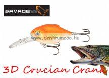 Savage Gear 3D Crucian Crank34 3.4cm 3.4g SF DR 02-Goldfish (53770)