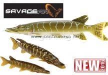 Savage Gear 3D Line Thru Pike 30cm 210g 01-Pike gumihal (48800)