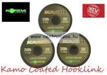 Korda Kamo Coated Hooklink előkezsinór 20m (KKB15 KKB20 KKB30 KKB50)