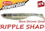 Berkley POWERBAIT RIPPLE SHAD 7cm Bulk Blue Shiner Gold (1376933)