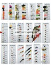 Daiwa Goldhead Lures Selection DFC-8 műlégy szett NEW Collection