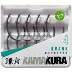KORDA horog Kamakura Krank Barbless hook - szakáll nélküli horog (KAM**)
