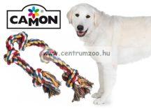 Camon fogtisztító kötél csont játék kutyáknak 95 cm 1000g 5csomós (A957/B)