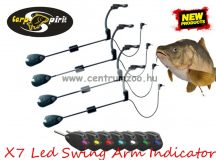 Carp Spirit X7  Arm Indicator Led Swinger Set ledes swinger készlet 4db-os (CSP8100252 )