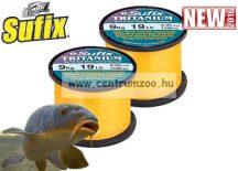 Sufix Tritanium Neon Gold 1120m 0,35mm 9kg bojlis zsinór (3001345)