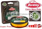 Berkley Whiplash 8 0,08mm 150m 12,9kg Yellow fonott zsinór (1446681) 2018NEW