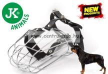 JK Animals Dog Safe fém szájkosár (44048) Rottweiler plusz méretű kutyáknak