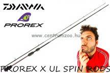Daiwa PROREX X UL SPIN 195CM 2-7g 2r pergető bot (11292-190)