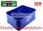 Feeder Competition EVA csali tál szett etetőanyag keverő táska kombó (CZ4281)