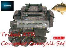 Shimano Tribal XTR Compact System CARRYALL CAMO BAG SET 75x40x42cm táska szett (SHTRXTR106)