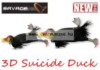 Savage Gear 3D Suicide Duck mű kiskacsa csukára, harcsára 15cm 70g (Coot color)