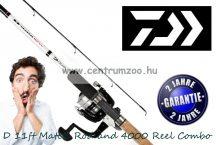 Daiwa D 11ft Match Rod and 4000 Reel Combo - Match szett 3,30m  (DM11PW DMF4000  206653)