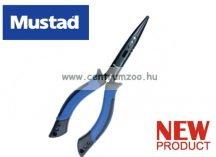 "Mustad 8"" Soft Grip Plier with Rubber Holster horgász fogó (MT010)"