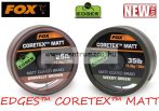 Fox EDGES™ CORETEX™ MATT - Weedy Green 25lb - 20m (CAC431) előkezsinór