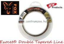 FOX Exocet® Double Tapered Line Trans Khaki  0.30-0.50mm 300m monofil dobófejes zsinór (CML155)