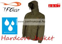 TF Gear - HARDCORE WATERPROOF JACKET - GREEN - vízálló kabát (M - XXL)