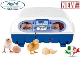 REAL 24 Italy Semi Automatica - Professional csirkekeltető (tojáskeltető, keltetőgép) tojásforgatóval