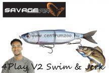 Savage Gear 4Play V2 Swim & Jerk 13,5cm 20g SS 01-Herring gumihal (61725)