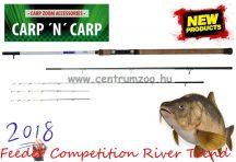 Carp Zoom Feeder Competition River Trend 360cm 160g, 3+3 részes bot feeder bot (CZ6162)