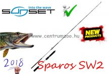 Sunset Sparos SW2 2,10m 15-60g pergető bot (STSRE8306210)