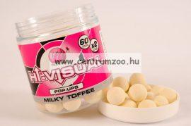 MAINLINE Baits High Visual Pop-Ups Milky Toffee 15mm 50db lebegő fluo bojli (M13005)