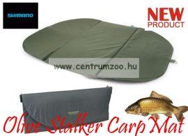 Shimano Olive Stalker Carp Mat prémium pontymatrac 96*81cm (SHOL15)(SHTR15)