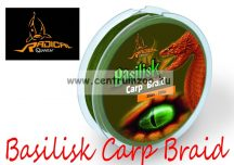 Radical Carp BASILISK CARP BRAID 0,23mm 25lb 350m 11,3kg GREEN fonott zsinór
