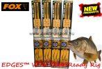Fox EDGES™ 25lb, 4 size Wide Gape Ready Rig Barbed  (CCR145) ELŐKÖTÖTT BOJLIS HOROG