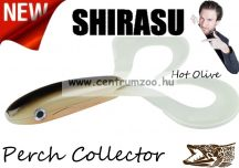 Balzer Shirasu Perch Collector  gumihal  7cm 4g (0013675707) Hot Olive