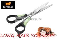 Ferplast Long Hair prémium szőrvágó olló 5810