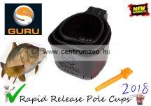 Guru Rapid Release Pole Cups Set ETETŐCSÉSZE SZETT (GRRC)