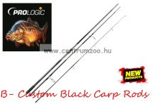 "Prologic B- Custom Black  12'6"" 384cm 3.50lbs - 2sec bojlis bot  (57206)"