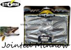 Storm Jointed Minnow PJM05 gumihal csomag 12,7cm 8db Trout Pearl White (TRPW)